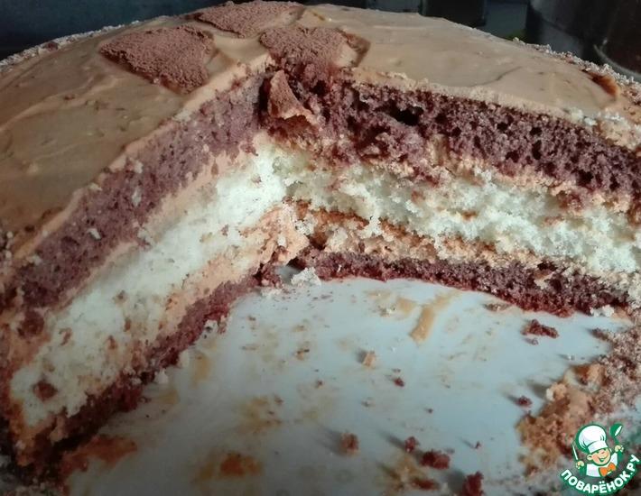 Рецепт: Торт Наслаждение