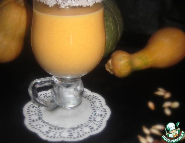 Рецепт: Тыквенно-молочный коктейль