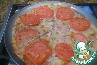Рецепт: Пицца Тоскана