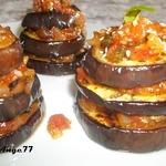 Французская закуска из баклажан и помидор