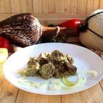 Говядина по-грузински в ореховом соусе