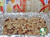 Овсяные батончики с орехами и цукатами ингредиенты