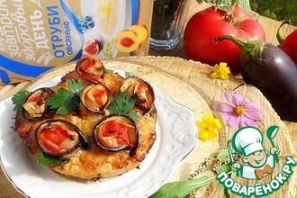 Рецепт: Мясная запеканка «А-ля рататуй»