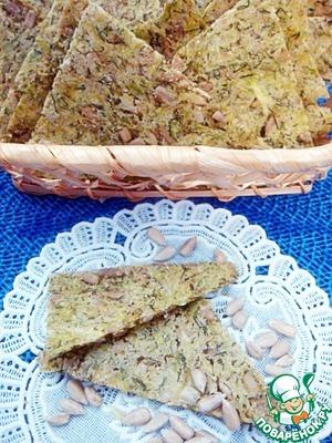 Рецепт Хлебцы из кабачков и семян подсолнуха