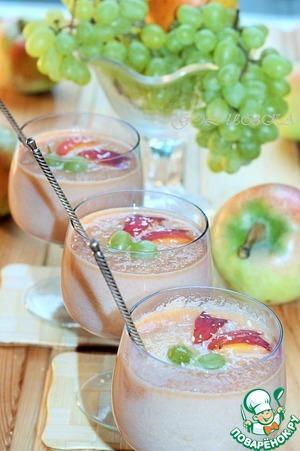 Рецепт Молочно-яблочный мусс с ванильным ароматом
