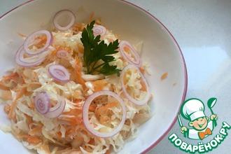 Рецепт: Квашеная капуста Прабабулин рецепт