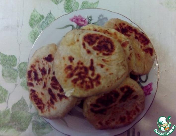 Рецепт: Хачапури с творожным сыром