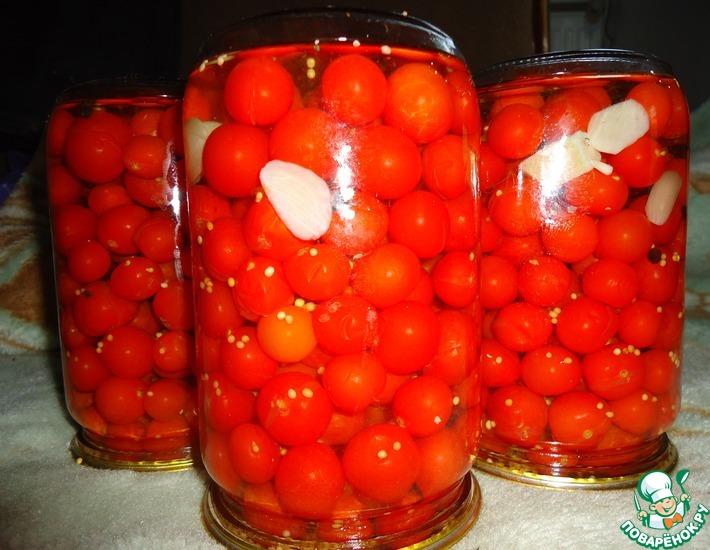 Рецепт: Консервированные помидоры черри Сахарные