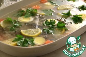 Рецепт: Бабушкина заливная рыба