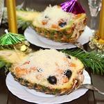 Салат Гавайский Новый год