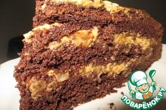 Рецепт: Шоколадный торт Лакомка