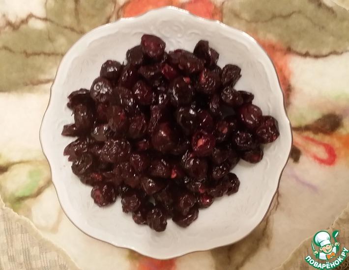 Рецепт: Цукаты из вишни