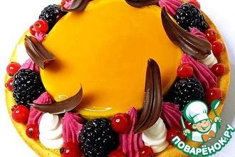 Рецепт: Фруктово-ягодный тарт