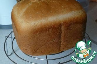 Рецепт: Домашний хлеб из хлебопечки