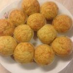 Картофельно-сырные кексы А-ля драники