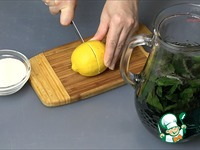 Напиток из базилика с лимоном ингредиенты