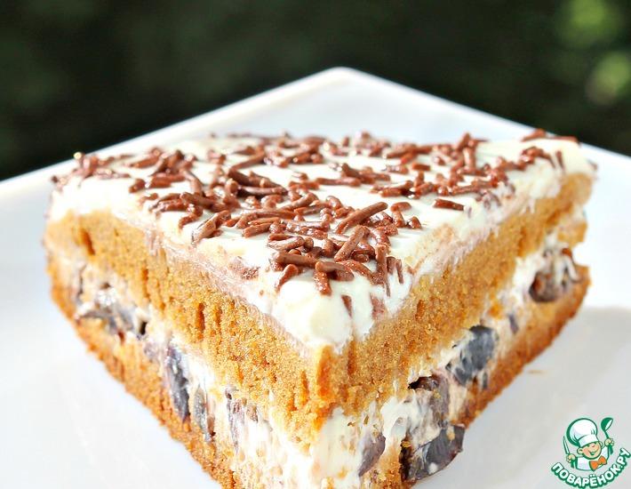 Рецепт: Быстрый торт Медовик