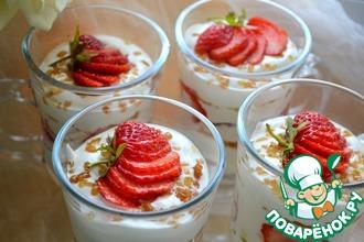 Рецепт: Творожно-йогуртовый десерт
