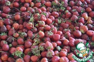 Fresh strawberries..