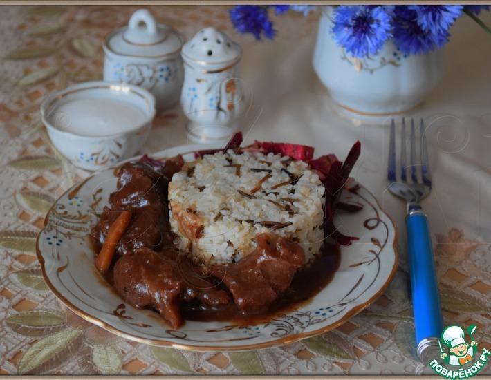 Рецепт: Мясо по-монгольски
