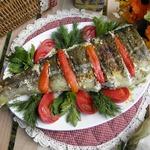 Рыба в фольге Для любителей мангала