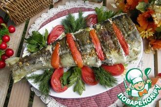Рецепт: Рыба в фольге Для любителей мангала