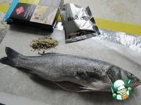 Рыба с брокколи, запеченная в фольге ингредиенты