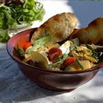 Жареный салат Цезарь