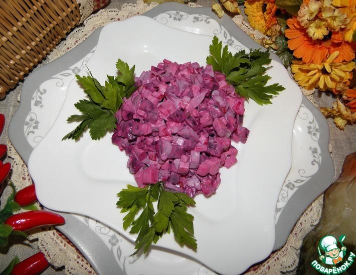 Рецепт: Свекольный салат На каждый день