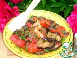 Салат из овощей-гриль – кулинарный рецепт