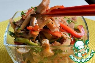 Рецепт: Рубец говяжий по-корейски