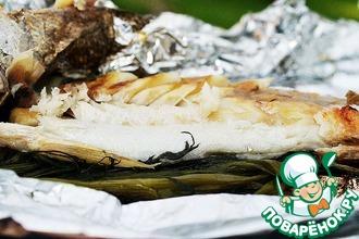 Рецепт: Рыба, запеченная в фольге