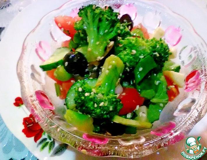 Рецепт: Салат Все по вкусу