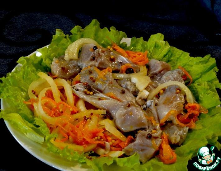 Рецепт: Маринованная рыба по-казачьи