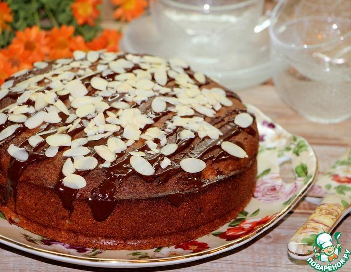 Рецепт: Орехово-яблочный пирог