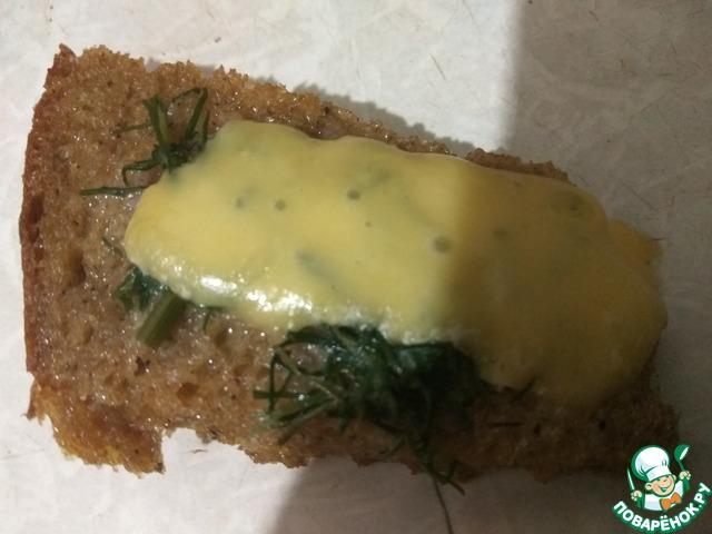 Рецепт Хлеб, обжаренный в яйце с сыром