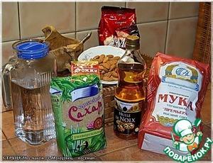 Итак,Струцель с маком … постныйот Елены Молоховец...    Вот набор продуктов, который нам понадобится.