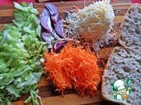 Двойной чикен-бургер на чиабатте ингредиенты