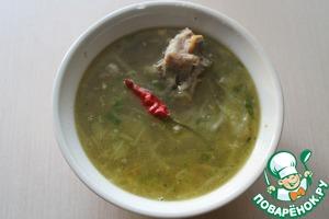Serve with bread, fat, and 150 grams home samogonochka )))