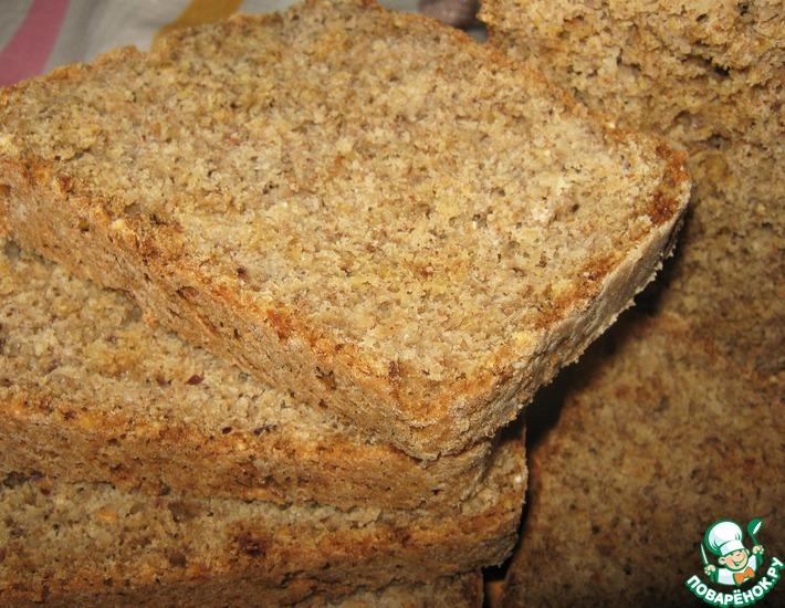 Рецепт: Хлеб постный бездрожжевой Любимый