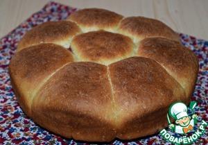 Готовые булочки остудить на решетке. Перед подачей посыпать сахарной пудрой.