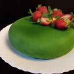 Торт Зеленый бархат