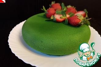 Рецепт: Торт Зеленый бархат