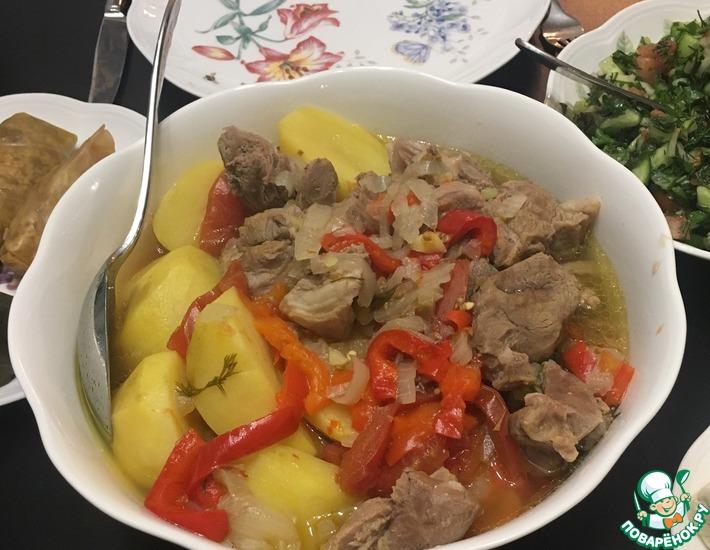 Рецепт: Хашлама по-армянски