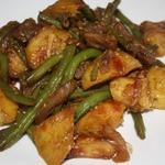 Картофель с мясом Азиатский вариант