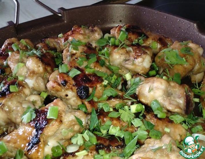 Рецепт: Маринад для куриных крылышек