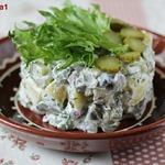 Картофельный салат по-фински