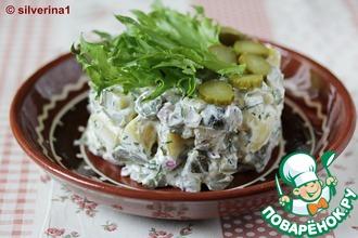 Рецепт: Картофельный салат по-фински