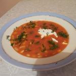 Суп фасолево-кукурузный