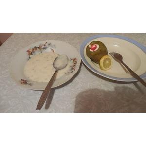 Фаршированый перец с грецким орехом
